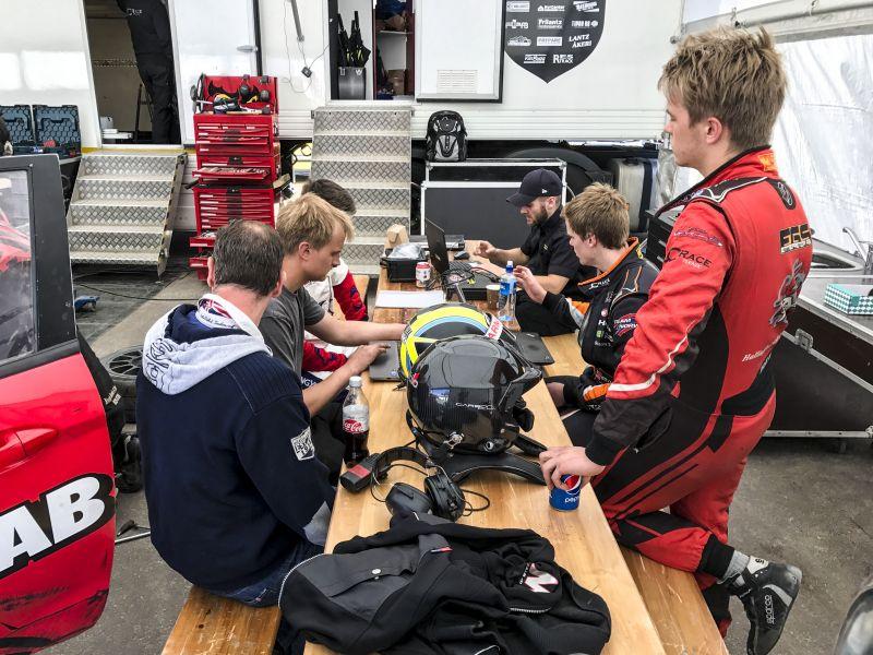 høljes sverige kart Rallycross test with our drivers in Supercar and RX2 høljes sverige kart